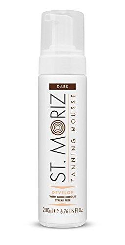 St Moriz Self Tan Range Instant Self Tanning Mousse, Dunkel 200ml
